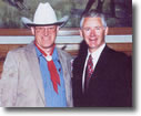 Ron Wilson was proclaimed a Poet Lariat by Kansas Governor Bill Graves.