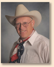 Speaker and presenter Ron Wilson, the Cowboy Poet Lariet does keynotes and original presentations for a variety of special events and dedications.